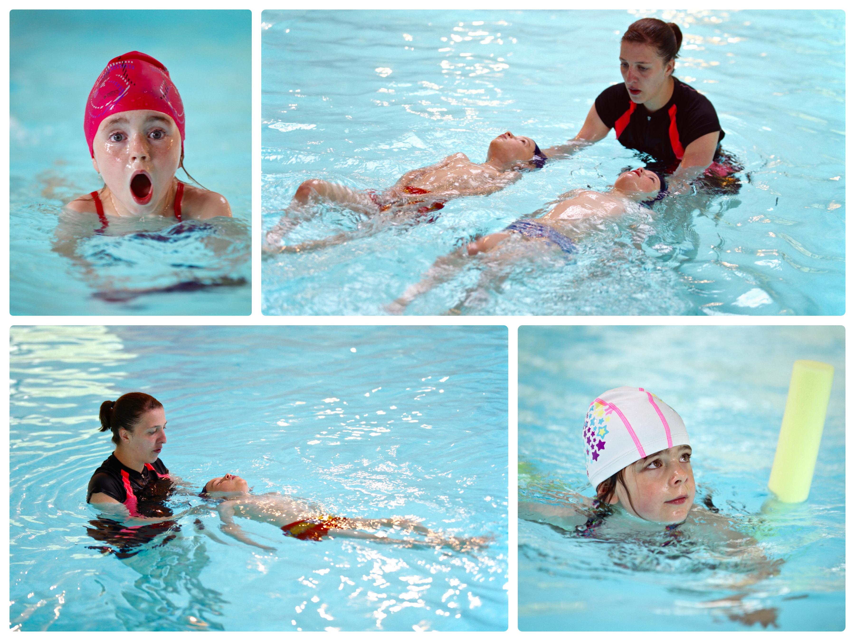 montage natation
